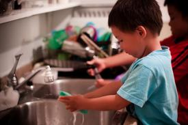 Is your child's allowance tied to chores and/or work?