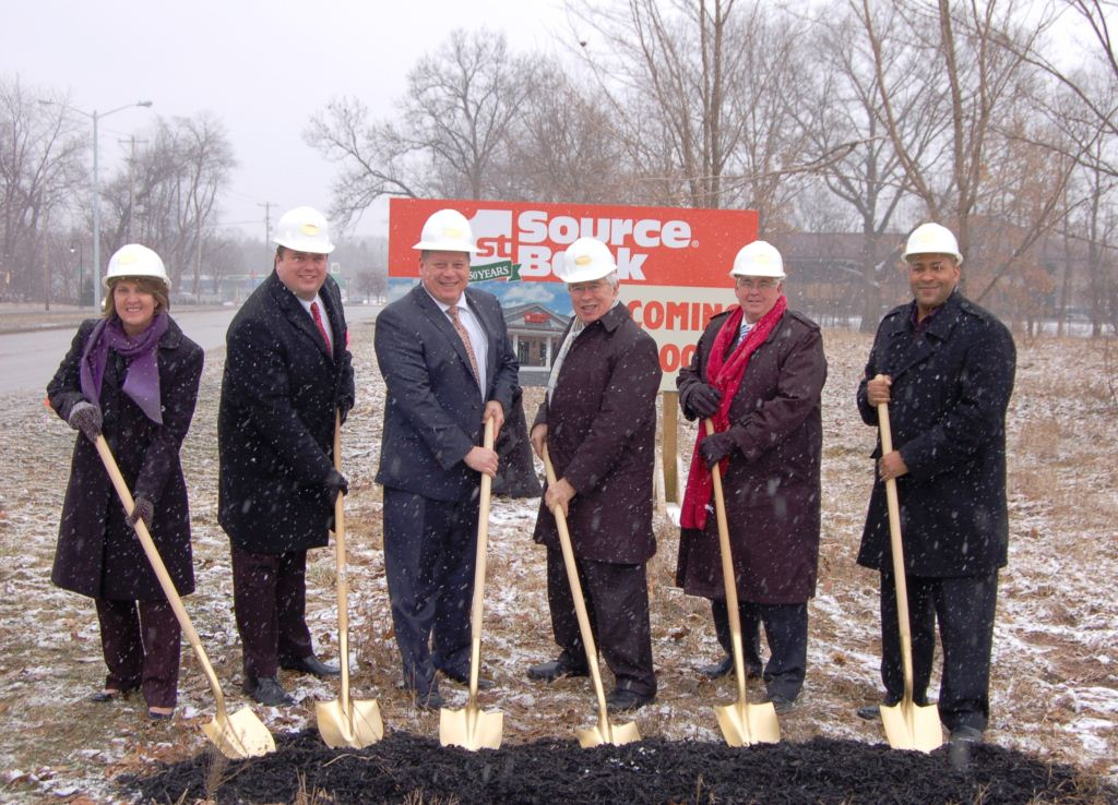 1st Source Bank Breaks Ground in Portage