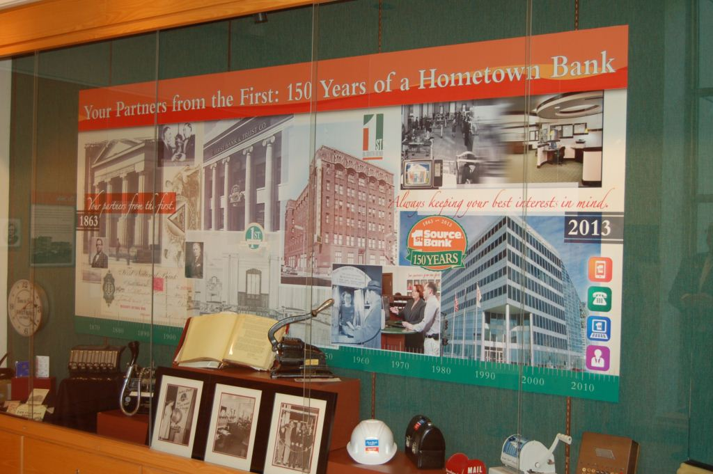 Center for History exhibit