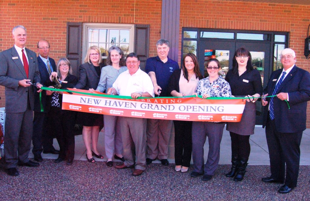 New Haven ribbon cutting