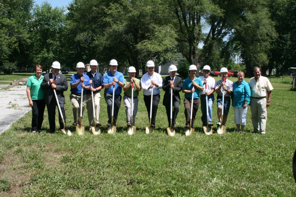 Pathfinder ground breaking in Huntington
