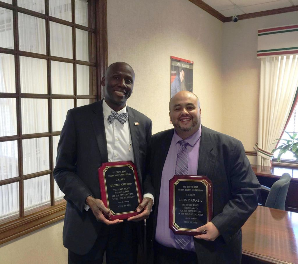 solomon and luis human rights award