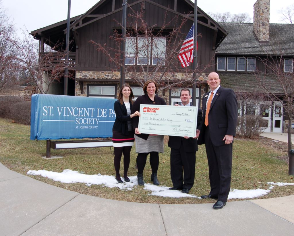 St Vincent De Paul Check Presentation