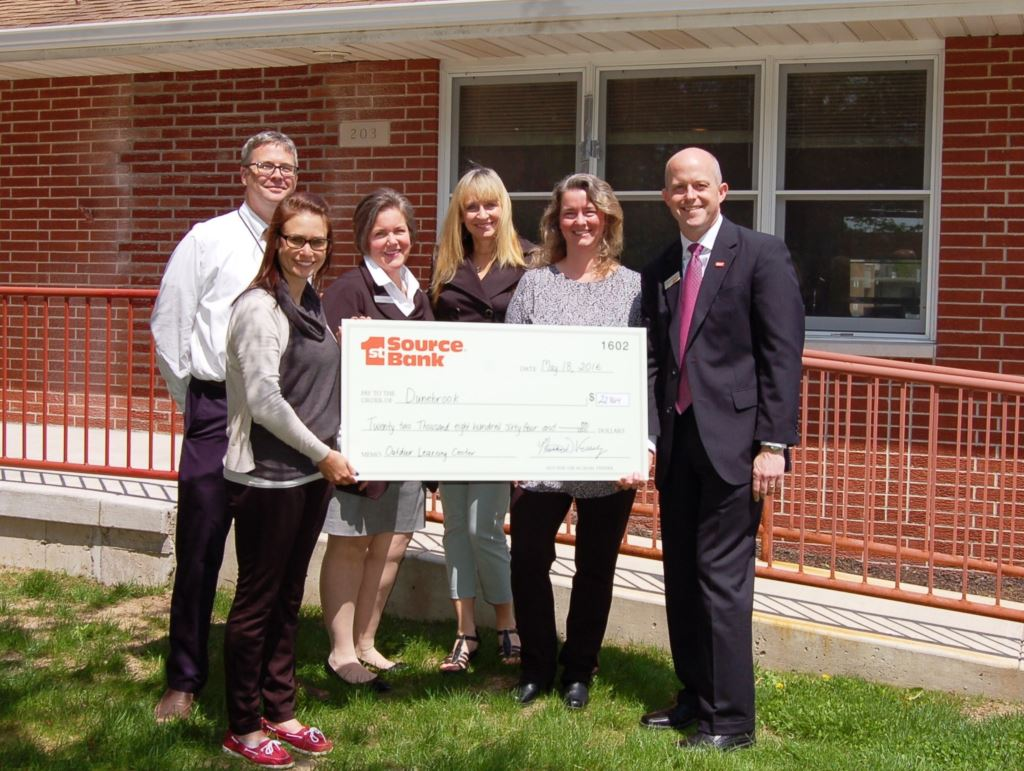 Westville Little School check presentation