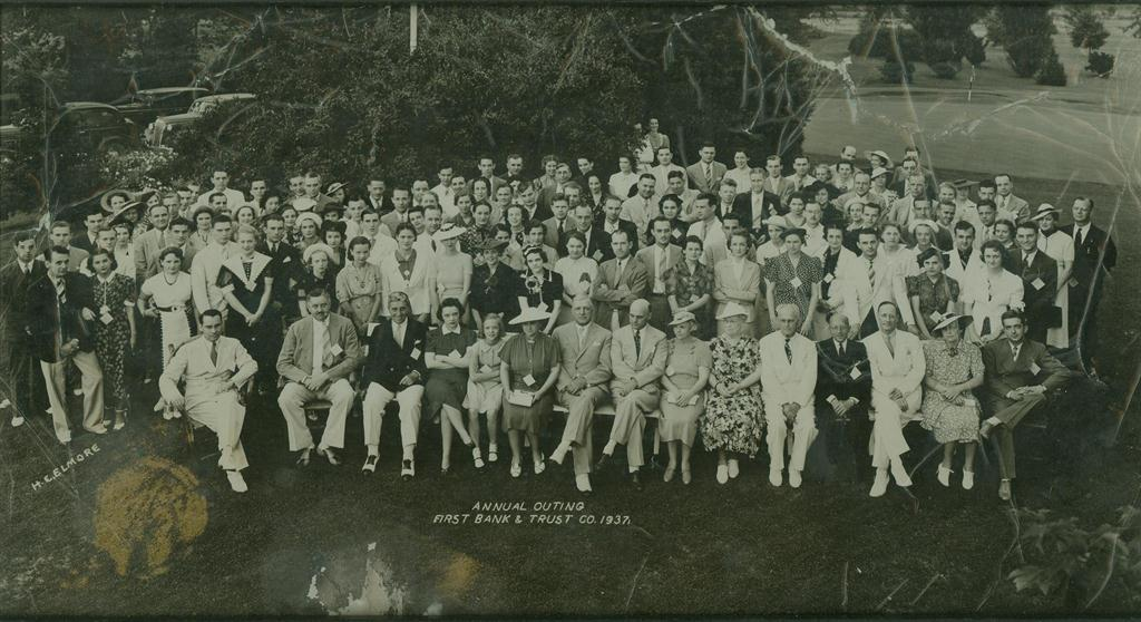 First Bank & Trust Company 1937 Annual Outing