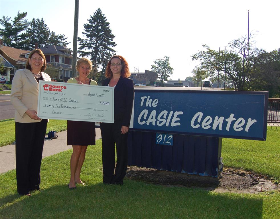 1st Source Donates $25,000 to The CASIE Center