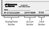 What is my 1st Source Routing Number? | 1st Source Bank