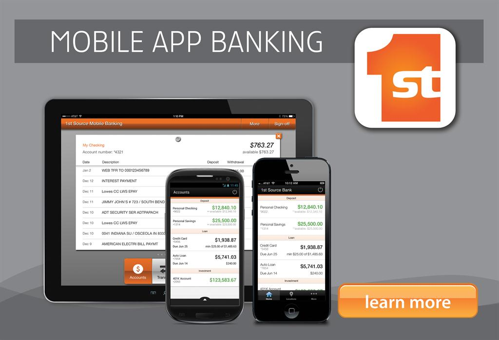 1st Source Bank Mobile App Banking