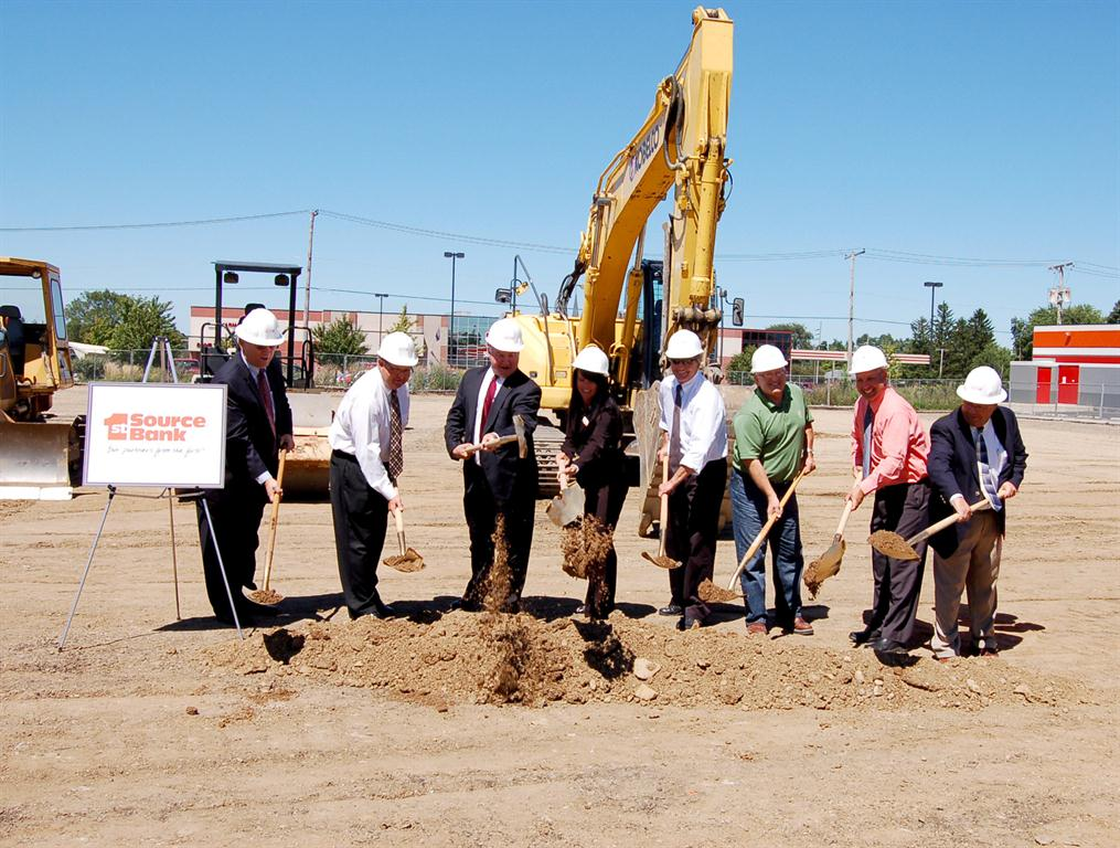 1st Source Breaks Ground on New Banking Center in Nappanee